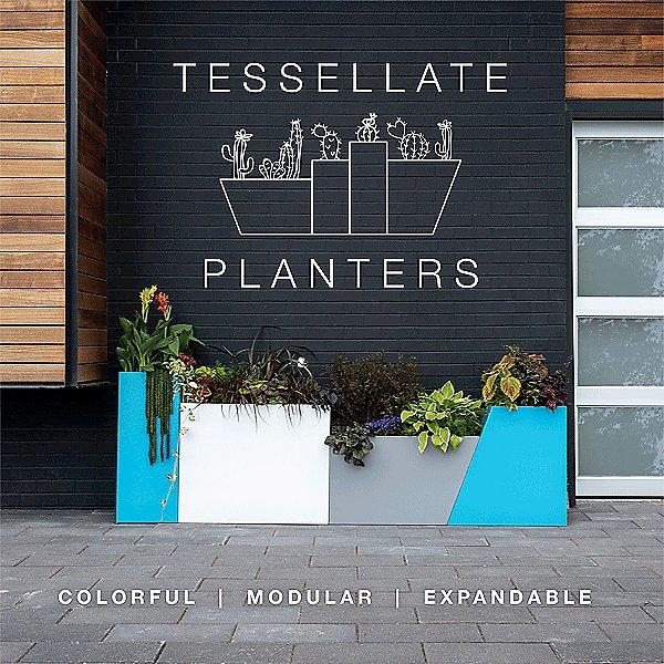 Tesselate Rectangle Planter