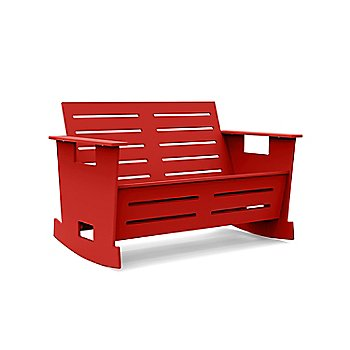 GO Loveseat Rocker - Apple Red