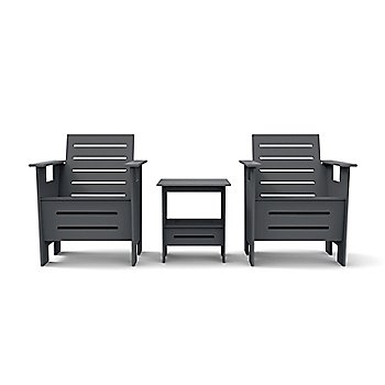 Charcoal Grey, shown with GO Club Chair