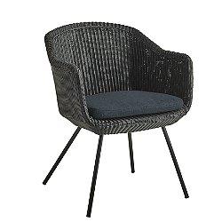 Mascon Outdoor Armchair Set of 2, Grey