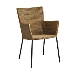 Mascon Outdoor Armchair Set of 2, Natural