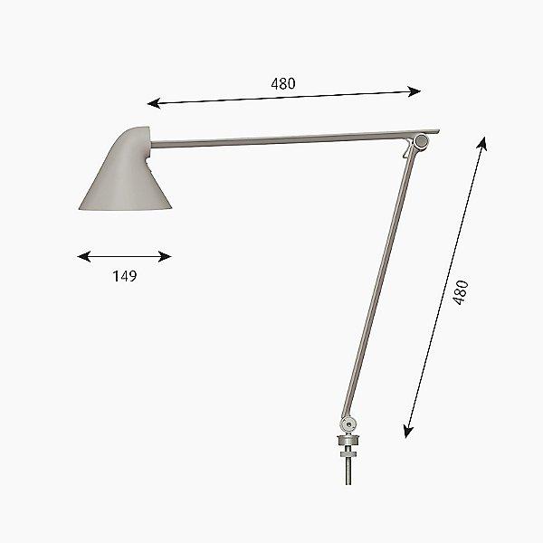 NJP LED Task Lamp