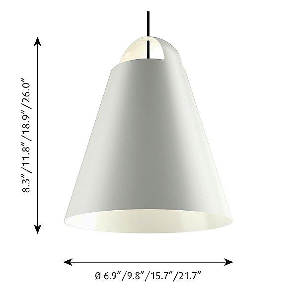 Above Pendant Light