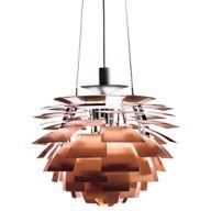 Copper Large Pendant Light