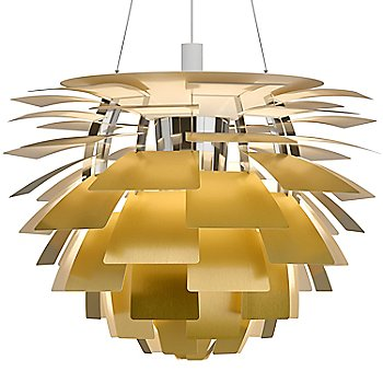 Brushed Brass shade color