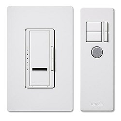 Maestro IR - Incandescent 600W - Single Location - Preset Smart Dimmer Package with IR Transmitter