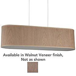 Blip 30 Inch Pendant Light (Walnut Veneer) - OPEN BOX RETURN