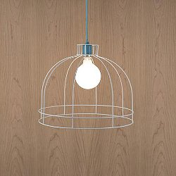 Color Swag Dome Cage Pendant Light