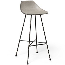 Hauteville Bar Chair by Lyon Beton - OPEN BOX RETURN