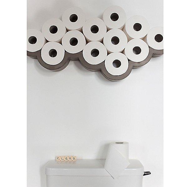 Cloud Toilet Paper Shelf