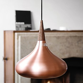 Copper finish