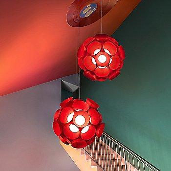 Red shade / illuminated