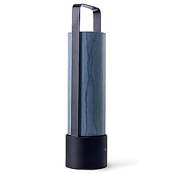 Shown unlit in Blue shade, Black Lacquered finish