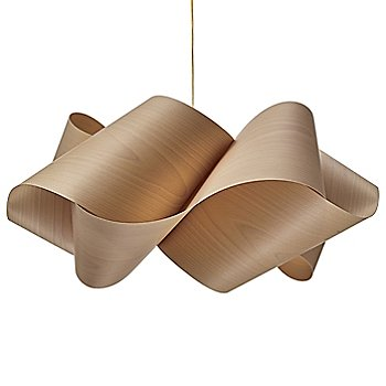Satin Gold finish / Natural Beech shade