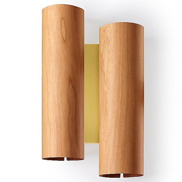 Black Note Duplet LED Wall Sconce