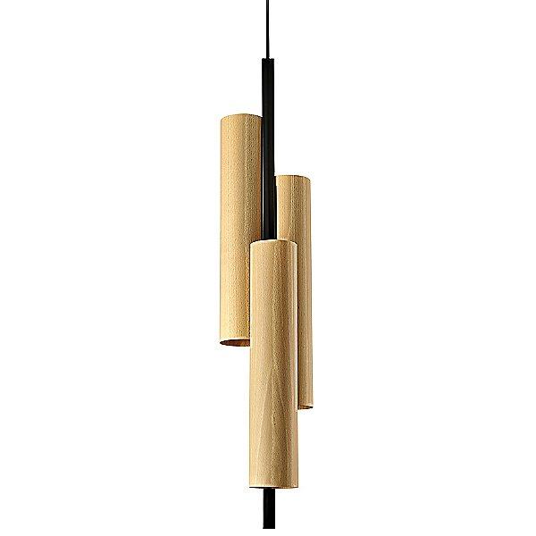 Black Note Triplet LED Suspension Light