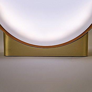Gold finish / Natural Beech shade / Detail view