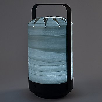Sea Blue shade, illuminated