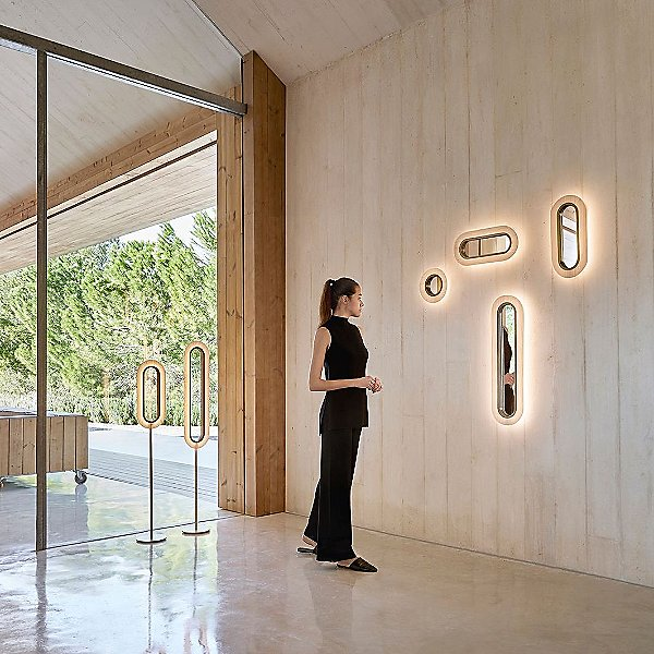 Lens LED Wall Sconce
