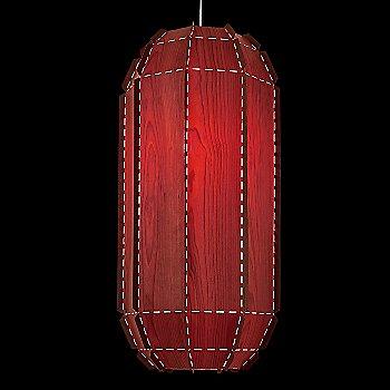 Red, not illuminated