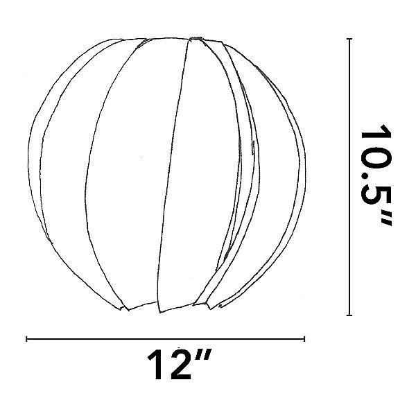 Bloom Round Pendant Light