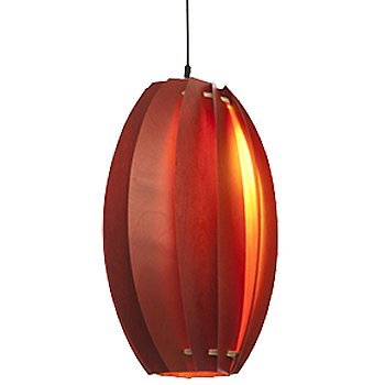 Shown lit in Scarlet Red finish