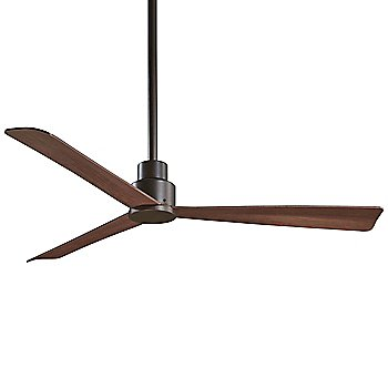 44 Inch / Oil Rubbed Bronze with Medium Maple Fan Body and Blade Finish