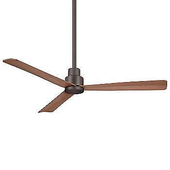 52 Inch / Oil Rubbed Bronze with Medium Maple Fan Body and Blade Finish