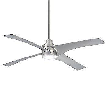 Silver Fan Body and Blade Finish
