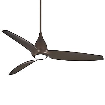 Oil Rubbed Bronze Fan Body and Blade Finish