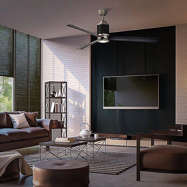 Gear 54-Inch LED Ceiling Fan