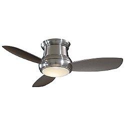 Concept II Flushmount 44-Inch Ceiling Fan(Nickel) - OPEN BOX