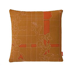 Layers Park Double Pillow, Sienna/Ginger/Rose - OPEN BOX RETURN