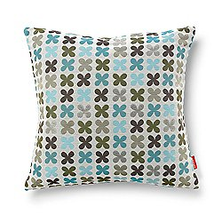 Quatrefoil Pillow, Silver