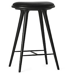 Space Stool, High (Counter Height/Black Beech) - OPEN BOX