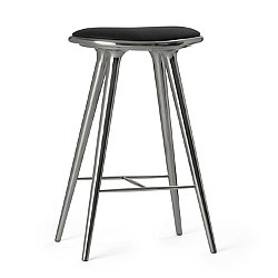 Aluminum Space Stool, High