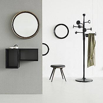 Pictured with the Premium Space Stool, Low and the Sophie Mirror (sold separately)