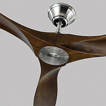 Shown in Matte Black with Walnut blades
