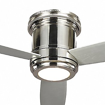 Polished Nickel with Grey Blades finish / Detail view