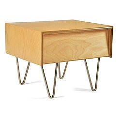 Case Study V-Leg Bedside Table (Classic Stain) - OPEN BOX