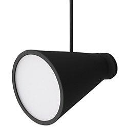 Bollard Plug-In Pendant by Menu (Black) - OPEN BOX RETURN