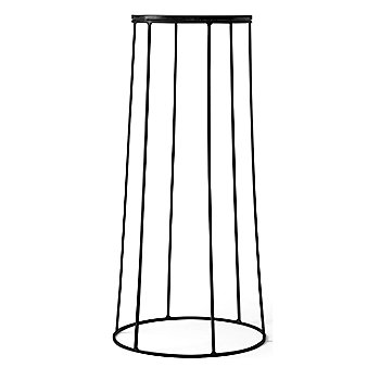 Shown in Black (Wire Base sold separately)