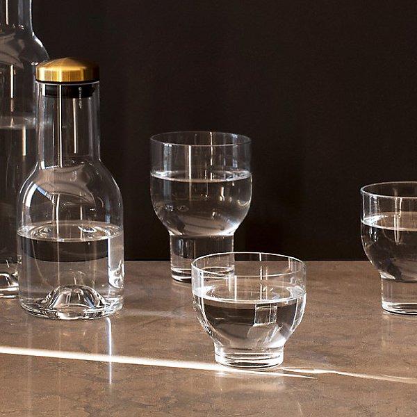 Glass Bottle Carafe