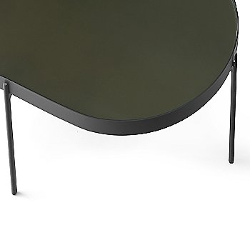 Large with Dark Green Glass