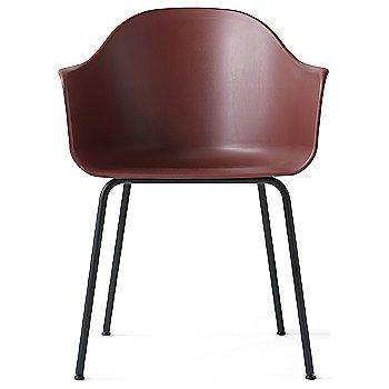 Red Polypropylene / Black Steel finish