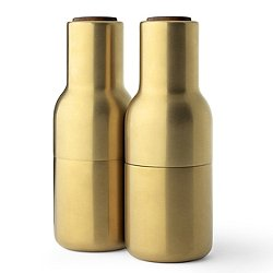 Bottle Grinders, Brass - Set of 2