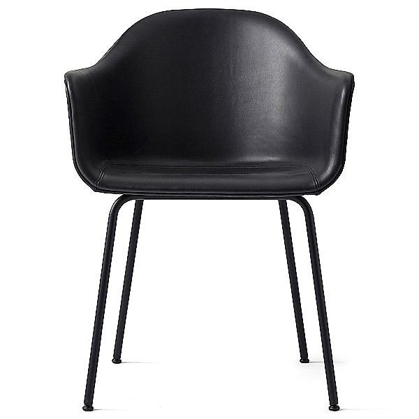Harbour Chair Steel Base, Upholstered