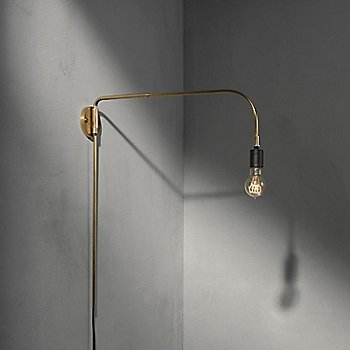 Brass finish, in use