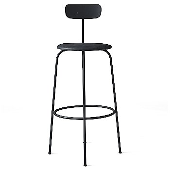 Bar height / Black with No Upholstery