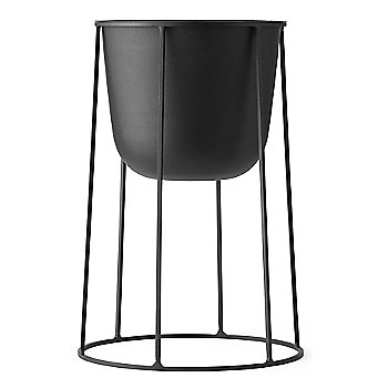 Shown in Black, Medium size (Wire Pot sold separately)
